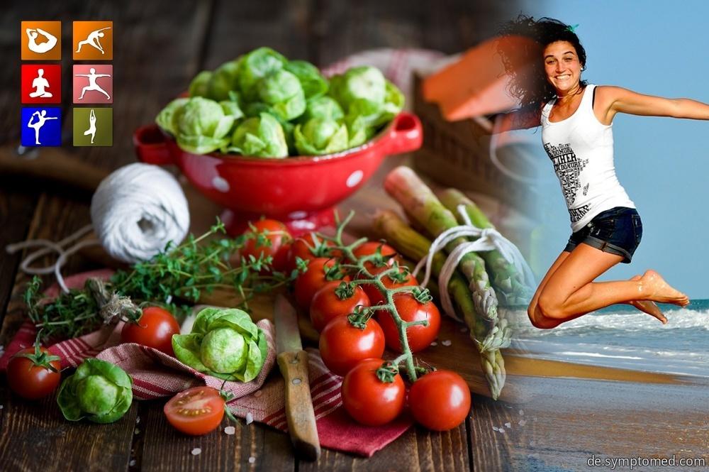 Die gesunden Ernährungsgewohnheiten