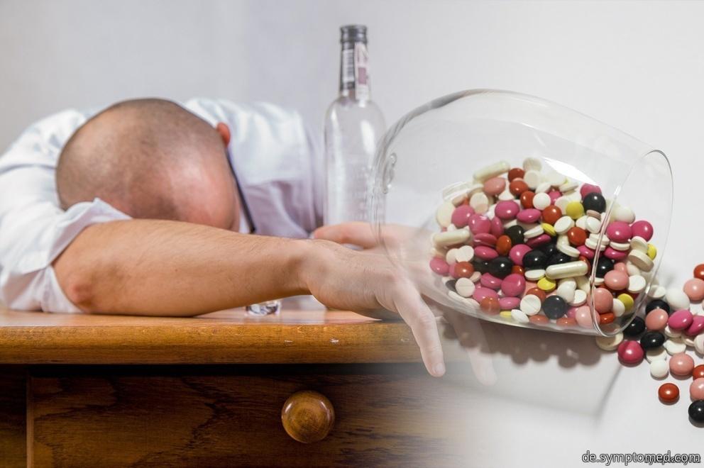 Alkohol-, und Medikamentenvergiftung