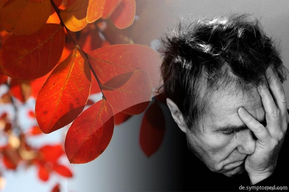 Depressionen im Herbst