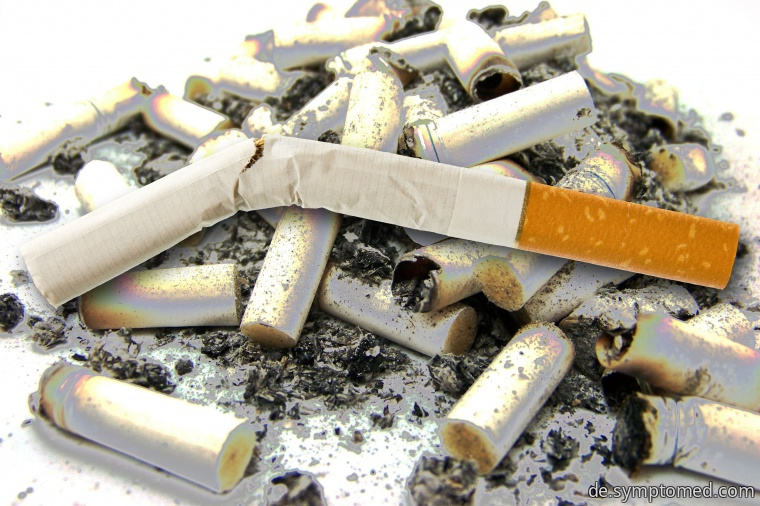 Das Rauchen und Krebs