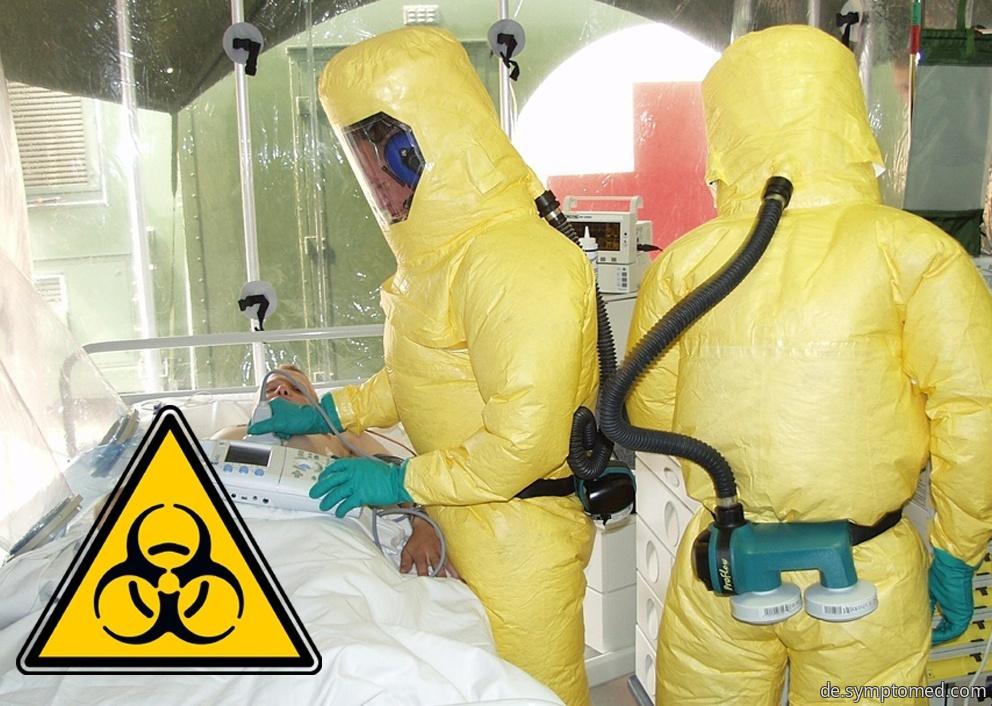 Pest - Infektionskrankheit durch Bakterie Yersinia pestis