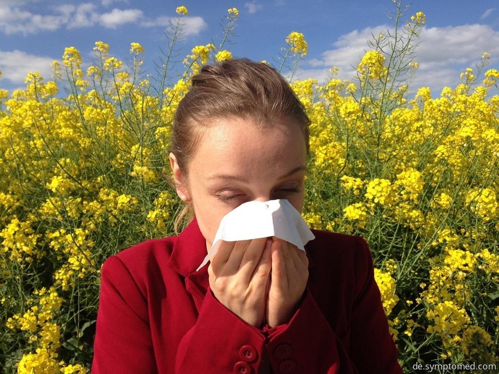 Allergie auf Pollen