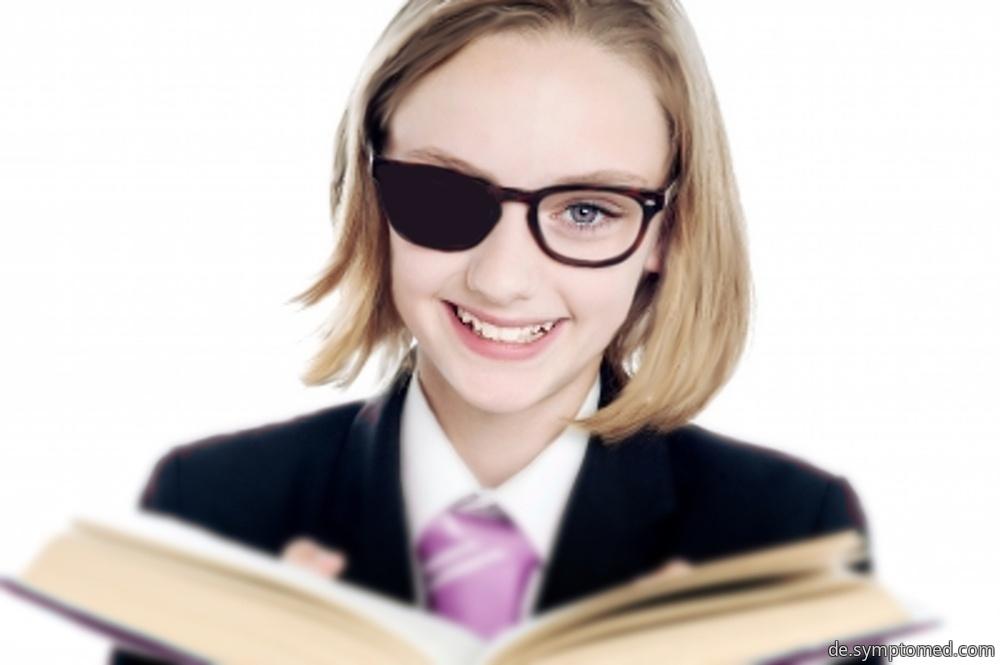 Schwachsichtigkeit (Amblyopie) bei Kindern