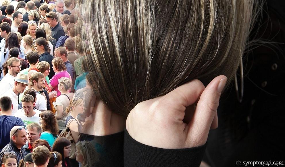 Angst vor einer Menschenmenge