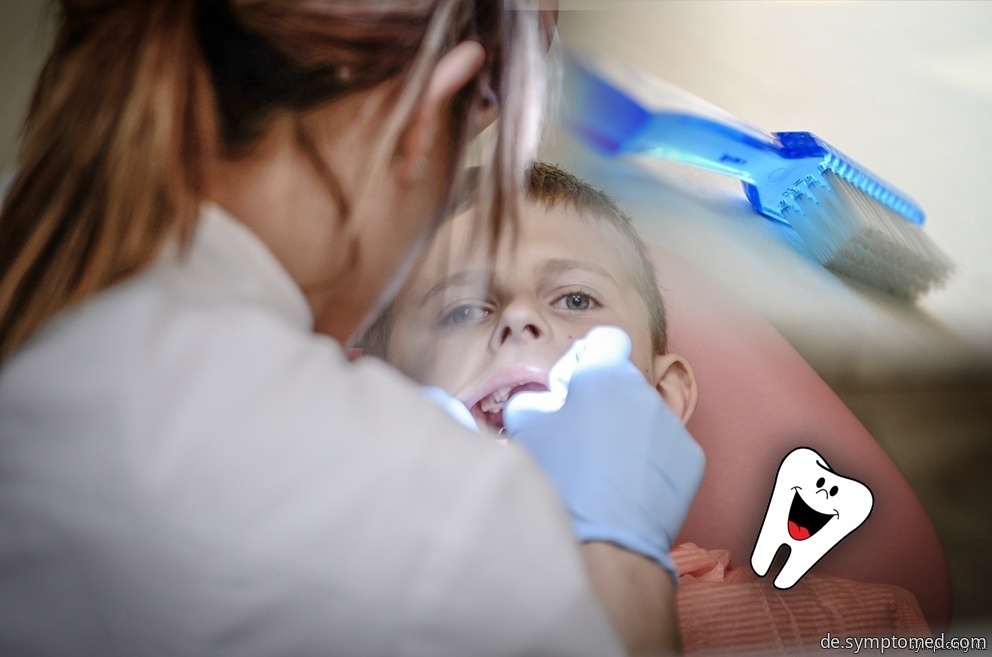 Ein abgestorbener Zahn