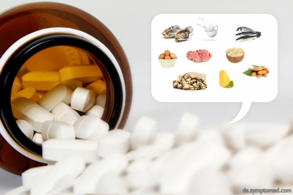 Tabletten von Vitamin B12