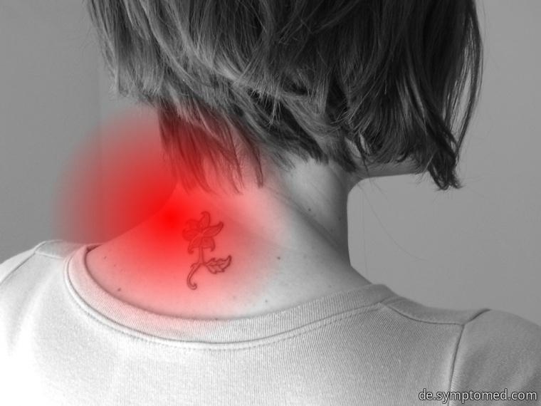 Schmerz im Nackenbereich