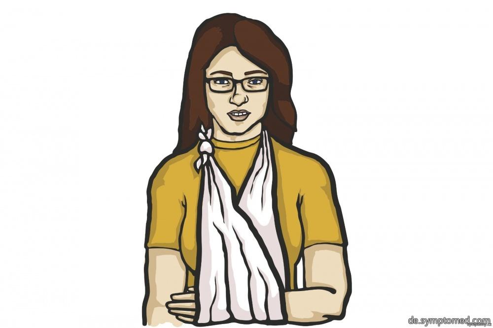 Frau mit dem Dreiecktuch