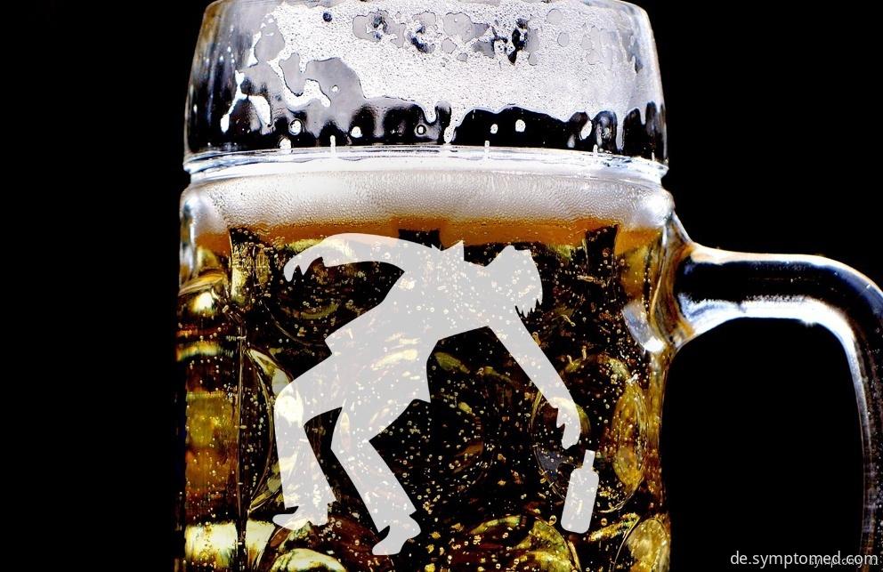 Vergiftung mit alkoholischen Getränken