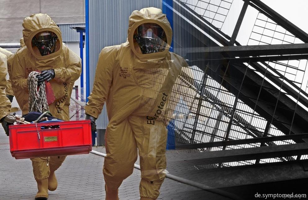 Entwichenes Ammoniak verursacht die Gesundheitsbeschwerden