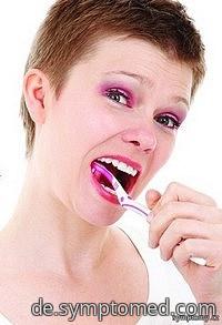 Das Putzen der Zähne