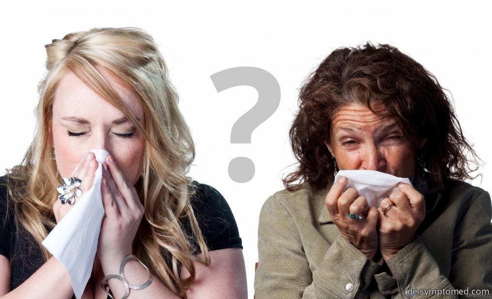 Angina oder Grippe?